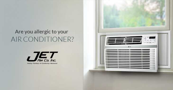 Are you allergic to your air conditioner?