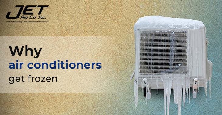 Why air conditioners get frozen