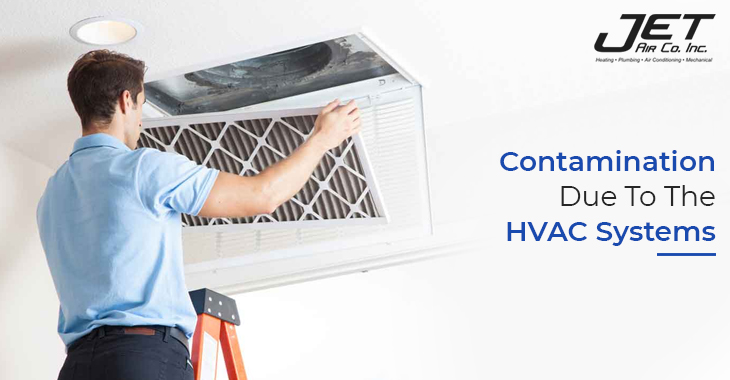 Contamination Due To The HVAC Systems