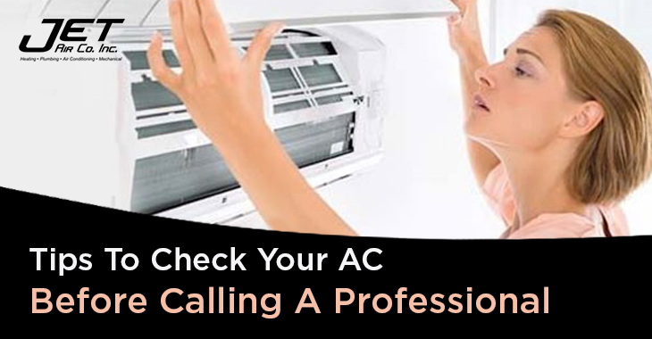 Tips To Check Your AC Before Calling A Professional
