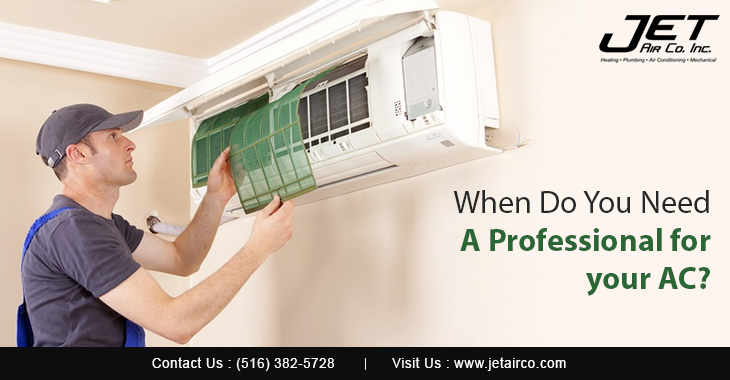 When Do You Need A Professional for Your AC?