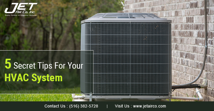 5 Secret Tips For Your HVAC System