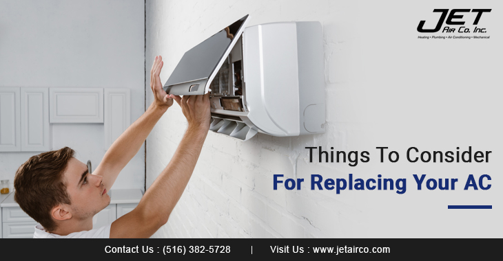 Things To Consider For Replacing Your AC