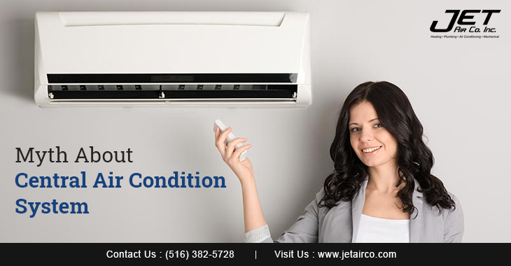 Myth About Central Air Condition System