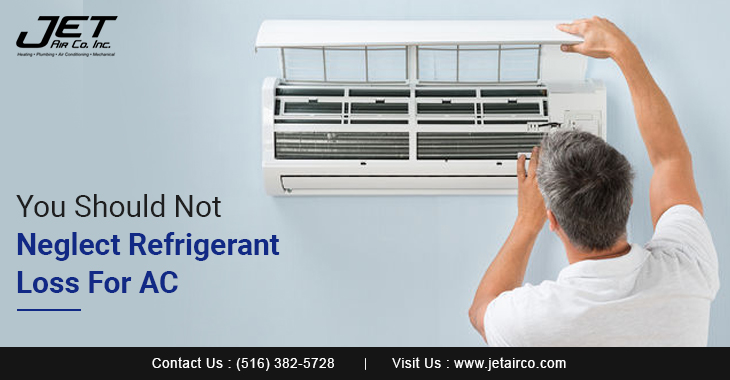 You Should Not Neglect Refrigerant Loss For AC