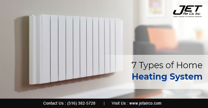 7 Types of Home Heating System