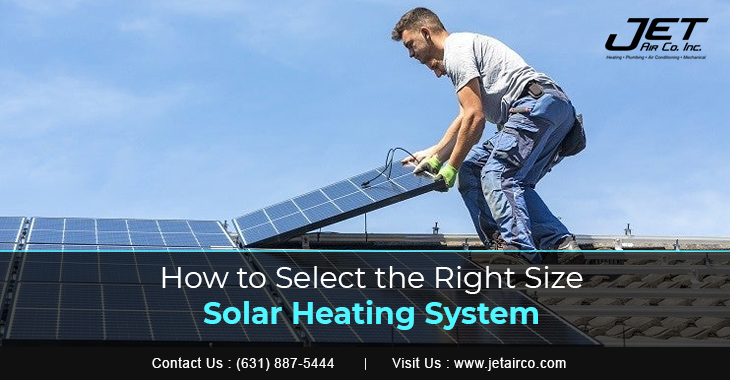 How to Select the Right Size Solar Heating System