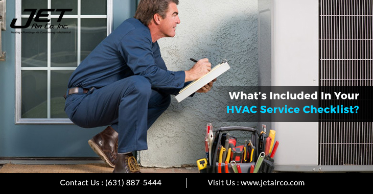 What's Included In Your HVAC Service Checklist?
