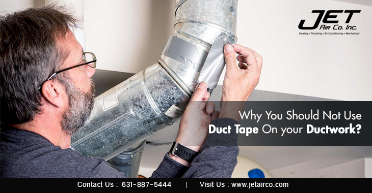 Why You Should Not Use Duct Tape On Your Ductwork?