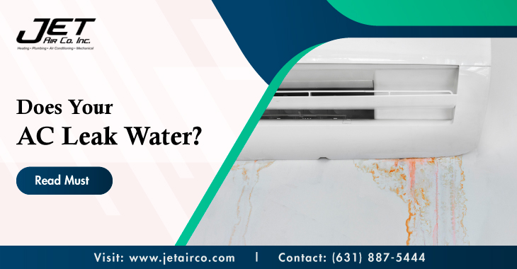 Does Your AC Leak Water? Read Must