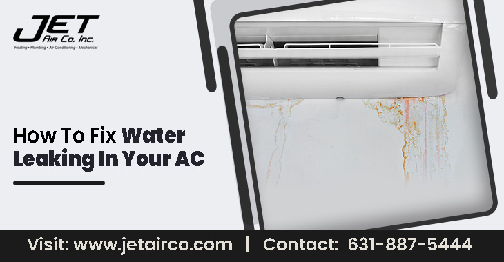 How to Fix Water Leaking In Your AC